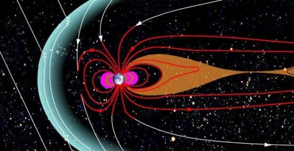 La Magnetósfera de la Tierra se Detuvo por Dos Horas