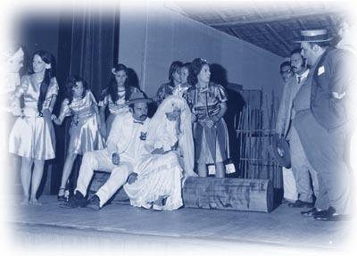 A afilhada de Nossa Senhora da Conceição, peça exibida em 1973