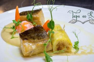 receita de bacalhau com legumes