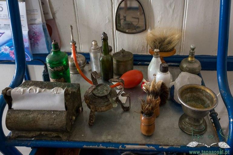 Barbeiro de antigamente na Sertã