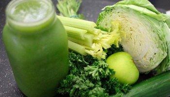 hortalizas, apio y coliflor