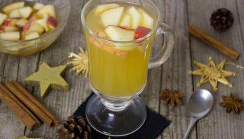 agua detox manzana canela