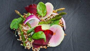 Receta: ensalada de quinoa