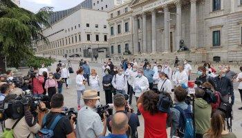 Protesta hostelería en Madrid