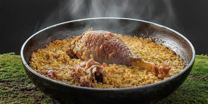 Arroz pitu Nacho Manzano catering