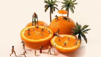 naranjas de Tatsuya Tanaka