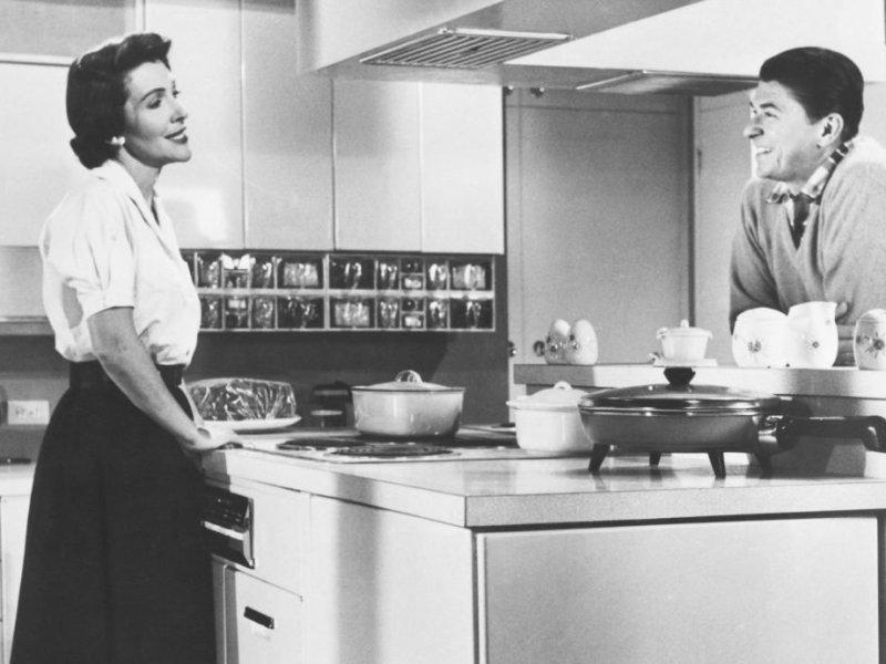 Banquetes y fiestas de Nancy Reagan