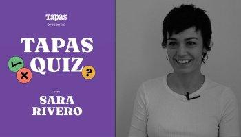 Tapas Quiz: ¿Cuánto sabe Sara Rivero de gastronomía?