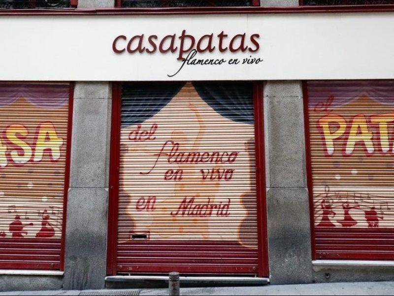 Restaurante cerrado Casa Patas