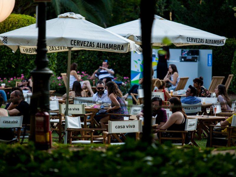 Espacio Village del Festival Jardins Pedralbes