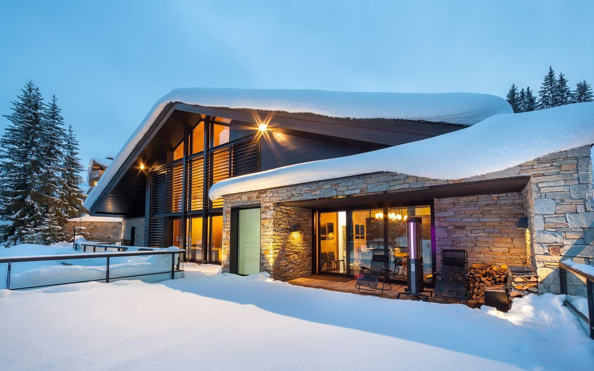 holiday homes weve rounded up some best modern ski chalets 2
