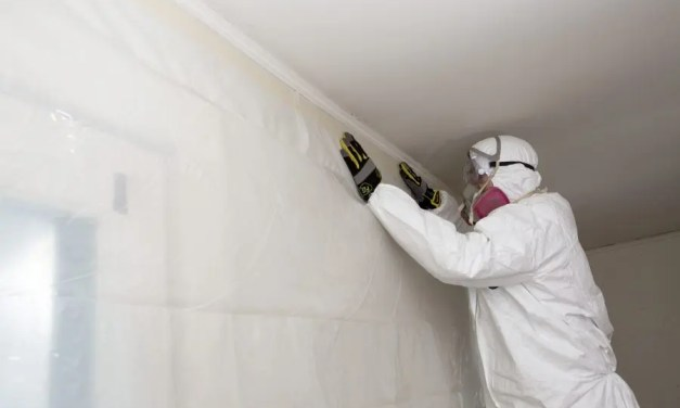 How are abatement tapes used for meth lab removal jobs?