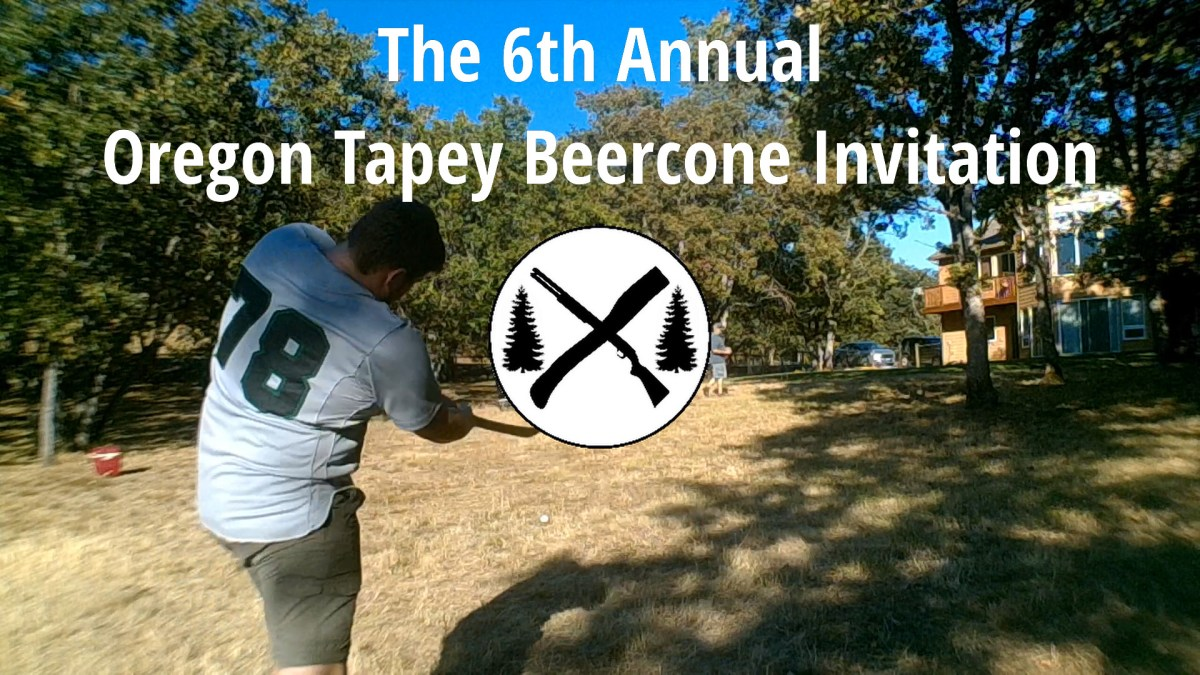 Condensed Game Video from the 6th Annual Oregon Tapey Beercone Invitation