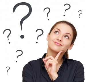 Woman asking herself 'What if …?'