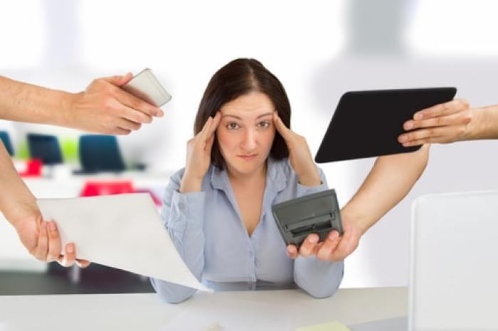 Your Biz Your Way - stressed woman