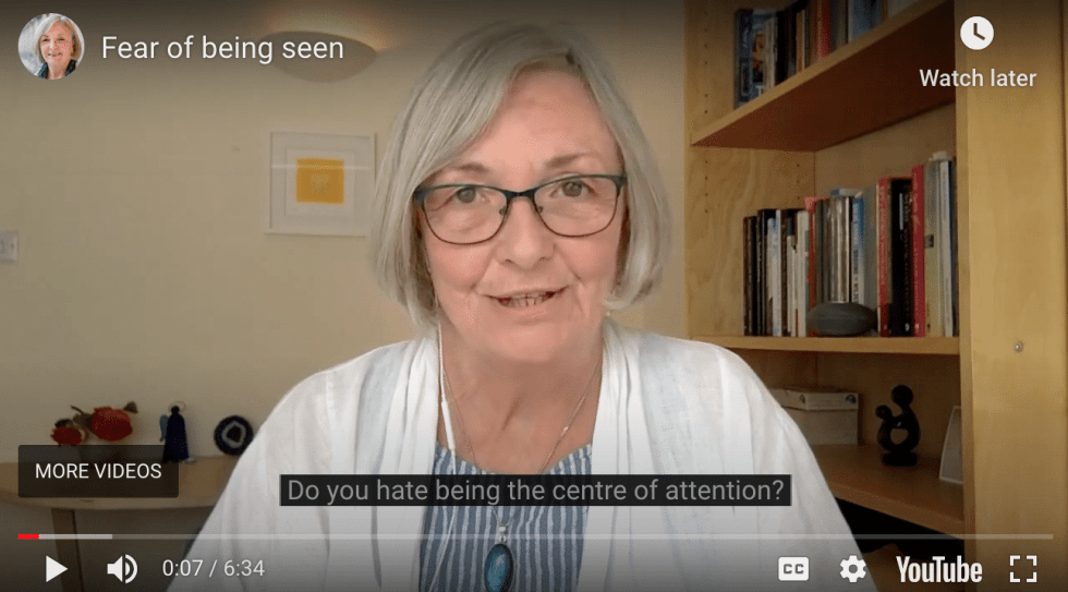 Linda Anderson Video - Fear Of Being Seen