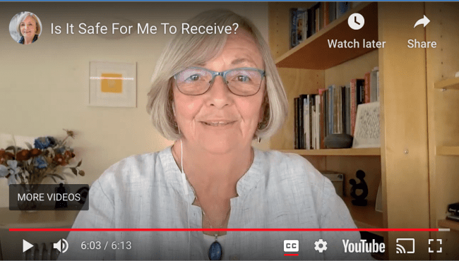 Linda Anderson, video - Is It Safe For Me To Receive