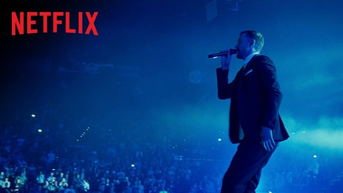 Shows na Netflix para assistir e se sentir no Rock in Rio -  JUSTIN TIMBERLAKE + THE TENNESSEE KIDS