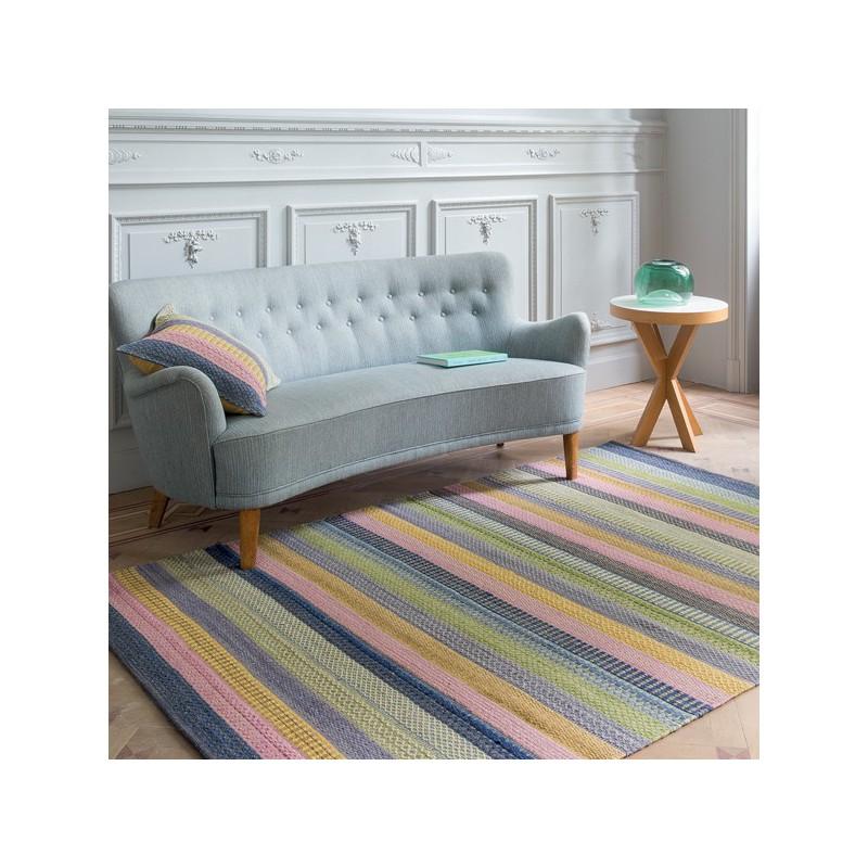 https www tapis chic com ligne pure 2848 tapis design tisse main enjoy motifs rayures multicolores par ligne pure html
