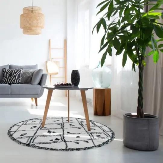 un tapis avec un chauffage au sol