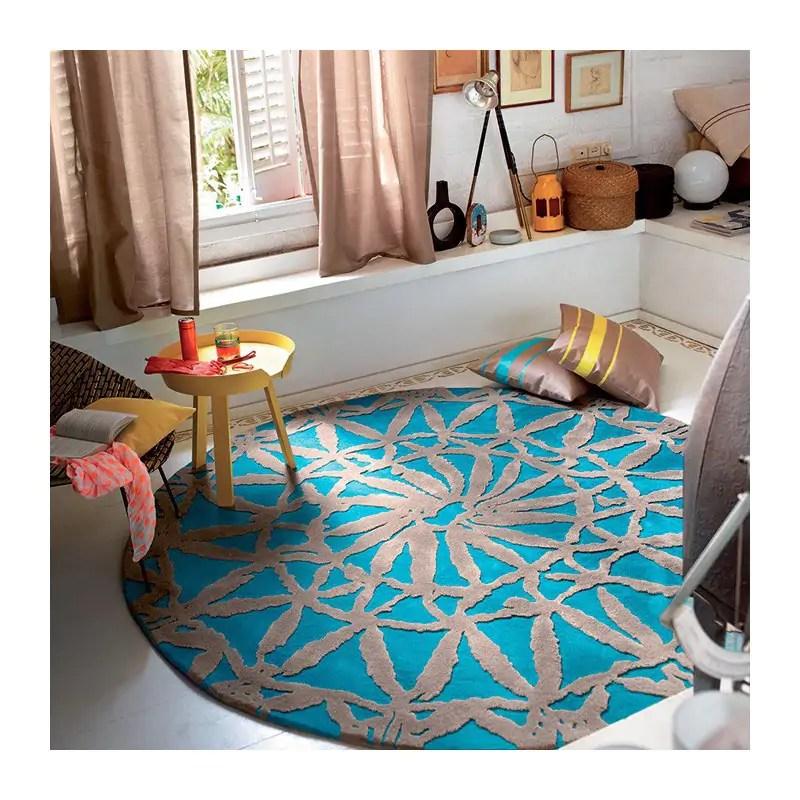 le tapis rond ideal pour une table