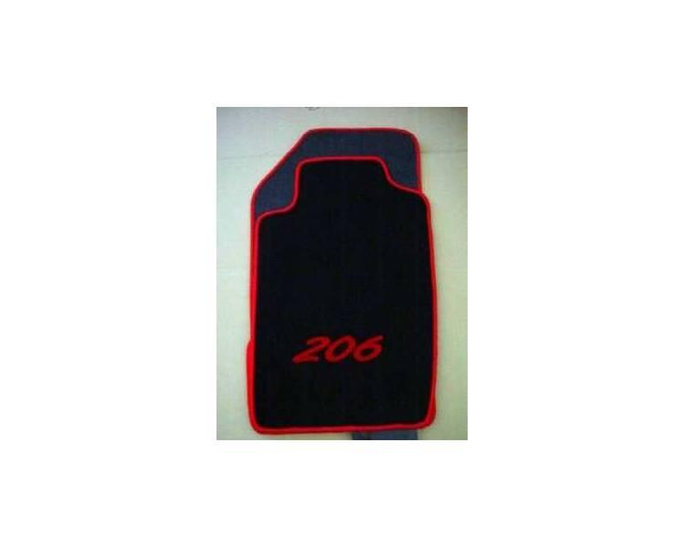tapis de sol pour peugeot 206