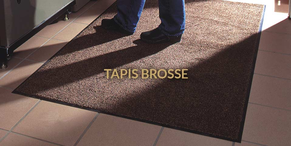 tapis brosse d entree paillasson