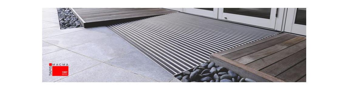 tapis d entree alu accueil tapis