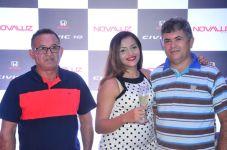 Antonio Silva, Manuela Fonseca e Reinaldo Torres