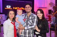 Dilauba Lima, Laís, Rafael e Samara Sousa