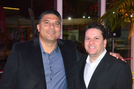 Oduenavi Ribeiro e Cristiano Sousa
