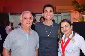 Salmito Almeida, Caio Ribeiro e Wienne Lopes