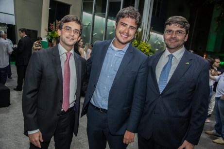 Adriano Ruland, Ted Gondes e Laerte Castro Alves