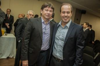 Cesar Ribeiro e Edgar Gadelha