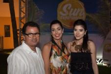 Fernando, Adriana e Letícia Cavalcante