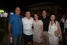 João Fiuza, Ricardo e Luciana Bezerra, Daniel e Verusca Arruda_