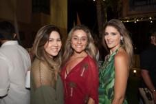 Karol Yamasaki, Celia Magalhães e Rebeca Leal Bastos_