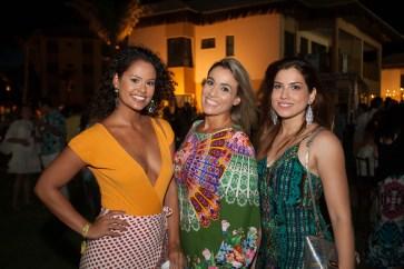 Rebeca Fagundes, Renatha Eduardo e Hindara Alves
