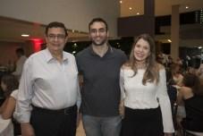 Elder Miranda, Elder Miranda Jr e Beatriz Lobo