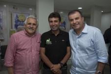 Emanuel Capistrano, Marcos Novaes e Ricardo Bezerra