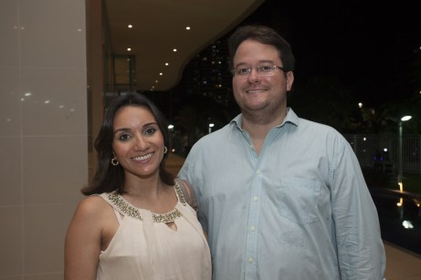 Fabiane e Guilherme Pimenta
