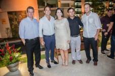 Aragão Neto , Deda Studart , Luciana Vilas Boas , Flavio Castro e Paulo Quindere (1)