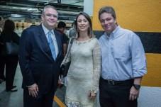Lucas Martins, Luciana Vilas Boas e Aragao Neto