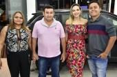 Odenize Sampaio, Raimundo Notato, Creysikele e Jonatas Sampaio
