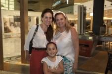 Claudiana, Leticia e Lucilia Loureiro