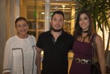Fatima Botelho, Savio Batista e Manuela Linhares