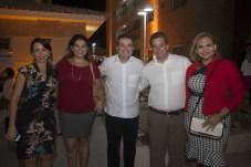 Luciana Vilas Boas, Patricia Mota, Ricardo Bezerra, Aragão Neto e Nivana Guimarães