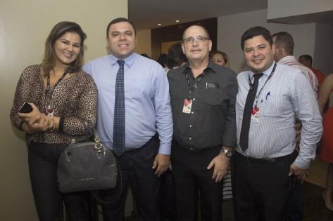 Patrícia Mota, Aurélio Paiva, José Bastos e Eriberto Morais (2)