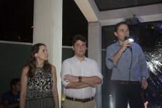 Renata Santos, Ricardo Ary e Fabio Albuquerque