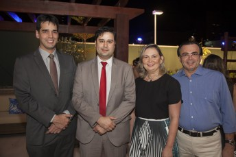 Thiago Tenorio, Hugo Liberal, Renata Santiago e Whashington Bezerra